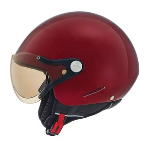 Casque X.60 - VISION PLUS - COLOR GLOSS  Burgundy
