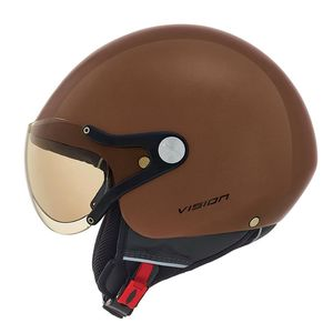 Casque X.60 - VISION PLUS - COLOR GLOSS  Chocolate Brown