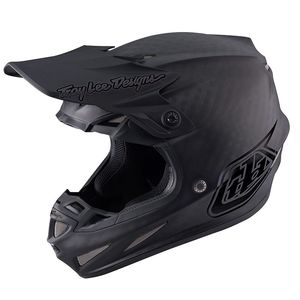 Casque cross SE4 CARBON MIDNIGHT BLACK 2020 Noir