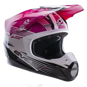 Casque cross T5 WORKS PINK WHITE BLACK  2017 Rose/Blanc/Noir