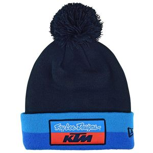 Bonnet TEAM POM STRIPE KTM  Bleu