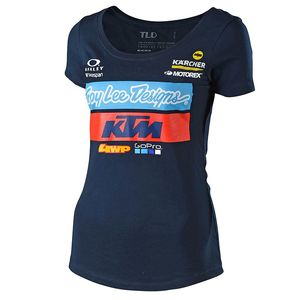 Tee-Shirt TEAM WOMEN KTM  Bleu
