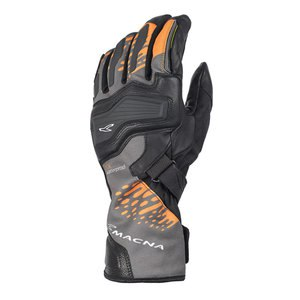 Gants TALON  Noir/Orange