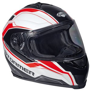 Casque TARGET - ULTIMATE  Noir/Blanc/Rouge
