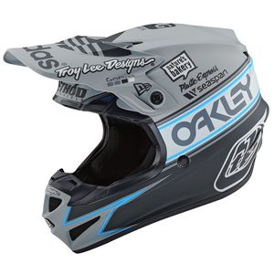 Casque cross SE4 POLYACRYLITE - TEAM EDITION 2 - GRAY 2020 Gray