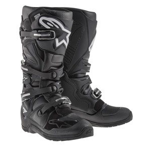 Bottes cross TECH 7 ENDURO - BLACK 2021 Black