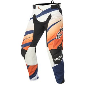 Pantalon Cross Alpinestars Techstar Venom Pants Orange White Navy 2016