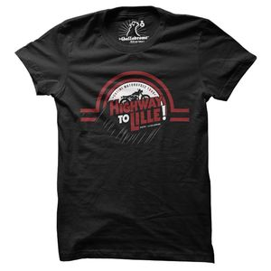 T-Shirt manches courtes HIGHWAY  Black