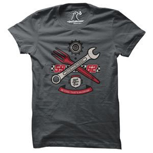 T-Shirt manches courtes BE COOL  Dark grey