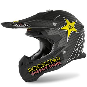 Casque cross TERMINATOR OPEN VISION - ROCKSTAR NEW - MATT 2020 Multicolore