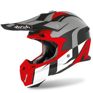 Casque cross TERMINATOR OPEN VISION - SHOT - RED MATT 2020 Red