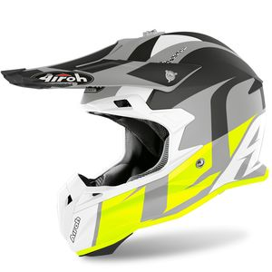 Casque cross TERMINATOR OPEN VISION - SHOT - YELLOW MATT 2020 Yellow