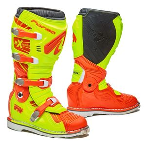 Bottes cross TERRAIN TX JAUNE FLUO ORANGE 2019 Jaune/Orange