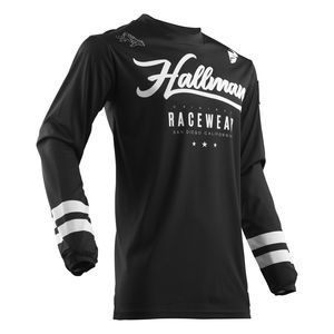 Maillot Cross Thor Hallman Hopetown Black 2019