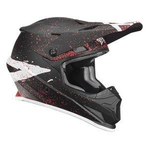 Casque Cross Thor Sector Hype Black Coral 2019