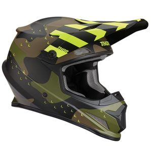 Casque cross SECTOR MOSSER GREEN CAMO 2019 Vert