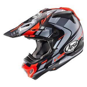 Casque Cross Arai Mx-v Bogle Red 2018