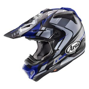 Casque Cross Arai Mx-v Bogle Blue 2018