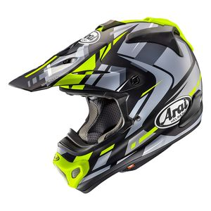 Casque Cross Arai Mx-v Bogle Yellow 2018