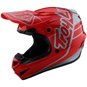 Casque cross GP - SILHOUETTE - RED SILVER 2020 Red Silver