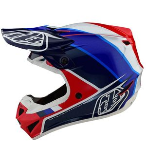 Casque cross SE4 POLYACRYLITE - BETA - RED BLUE 2020 Red Blue