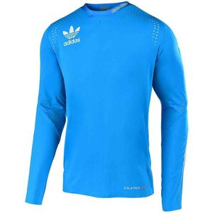 Maillot cross ULTRA L/S - ADIDAS TEAM - OCEAN 2019 Bleu