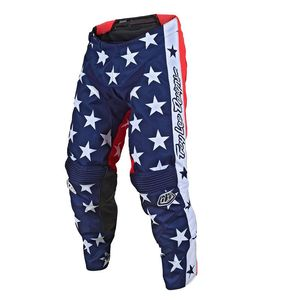 Pantalon cross GP JUNIOR - INDEPENDENCE - NAVY RED  Bleu Rouge