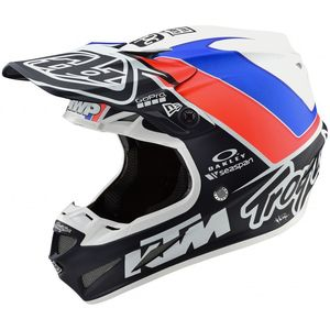 Casque cross SE4 COMPOSITE - UNITE - WHITE NAVY 2019 White Navy