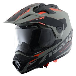 Casque CROSS TOURER GRAPHIC EXCLUSIVE ADVENTURE  Gris/Noir