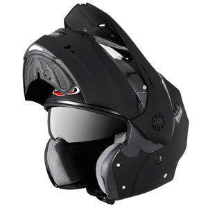 Casque TOURMAX  Black Matt