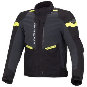 Blouson TRACTION NIGHT EYE  Noir/Jaune fluo