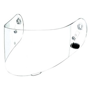 Ecran casque CLEAR - HJ-20 M - C70 / IS 17 / FG-17  clair