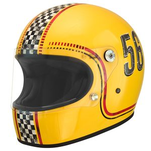 Casque TROPHY FL  Jaune