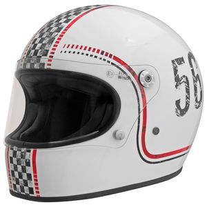 Casque TROPHY FL  Blanc