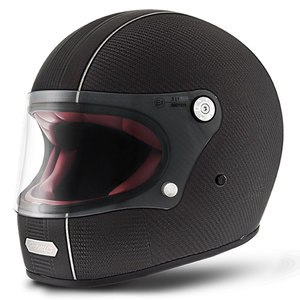 Casque TROPHY - CARBON - BLACK MAT  Carbone