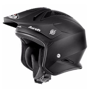 Casque trial TRR S - COLOR MATT 2019 Noir