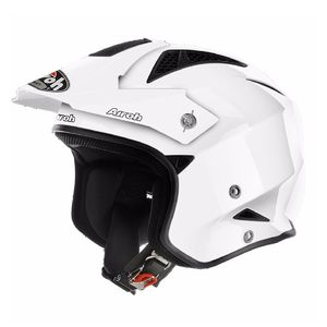 Casque trial TRR S - COLOR 2018 Blanc