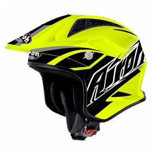 Casque trial TRR S - BREAKER 2017 Jaune