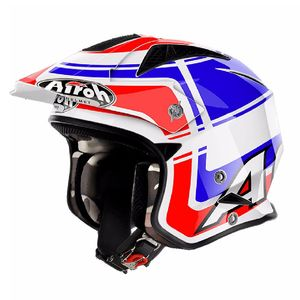 Casque trial TRR S - WINTAGE 2018 Bleu
