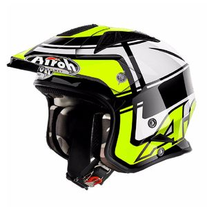 Casque trial TRR S - WINTAGE 2018 Jaune