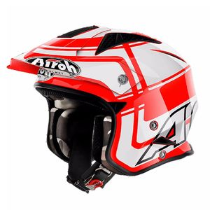 Casque trial TRR S - WINTAGE 2018 Rouge