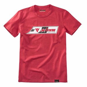T-Shirt manches courtes SPEED LEATHER  Red