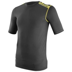 Maillot Technique SHORT SLEEVE HI VIZ ENFANT  Black/Yellow