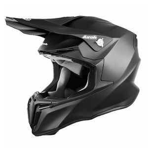 Casque cross TWIST -  COLOR  - BLACK MATT 2018 Noir