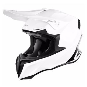 Casque cross TWIST -  COLOR  - WHITE 2019 Blanc