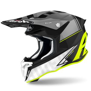 Casque cross TWIST 2.0 - TECH - YELLOW MATT 2021 Yellow
