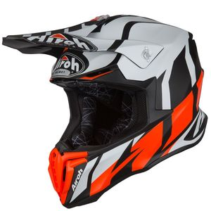 Casque cross TWIST - GREAT - ORANGE MATT 2019 Orange/Noir