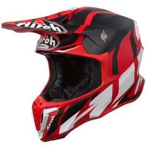 Casque cross TWIST - GREAT - RED MATT 2019 Rouge/Noir