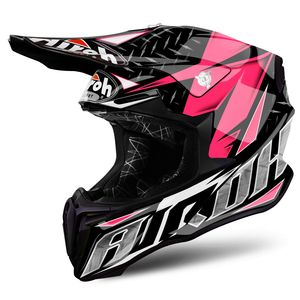 Casque cross TWIST IRON PINK GLOSS 2019 Rose