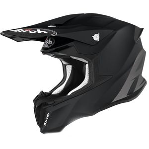 Casque cross TWIST 2.0 - COLOR - BLACK MATT 2021 Black